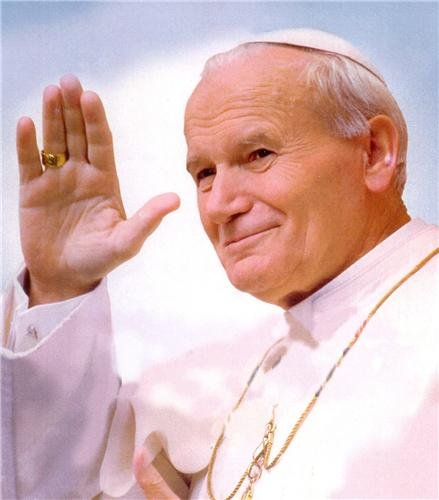 POPE JOHN PAUL II GLOSSY POSTER PICTURE PHOTO vatican catholic church great by ConversationPrints