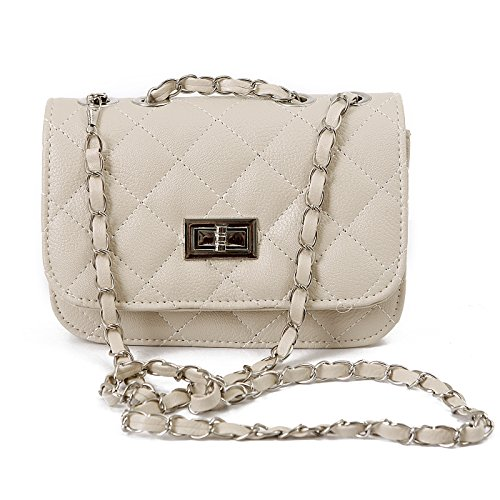 quilted chain handbag - 2