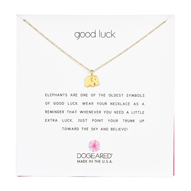 elephant products necklace luck grande untwine it good