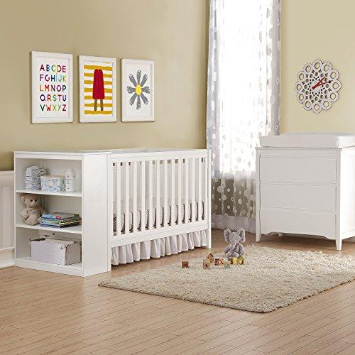 Baby Relax Cuna con organizador 2 en 1 blanco Ayla