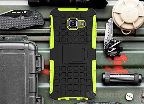 Cocomii Grenade Armor Galaxy Note 2 Case New [Heavy Duty] Premium Tactical Grip Kickstand Shockproof Bumper [Military Defender] Full Body Dual Layer Rugged Cover for Samsung Galaxy Note 2 (G.Green)
