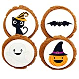 Chomp a'Lomp Cookies, Halloween, Cute and Scary, Chomp a'Lomp Clear Top Box, 4 Decorated, 8 Plain