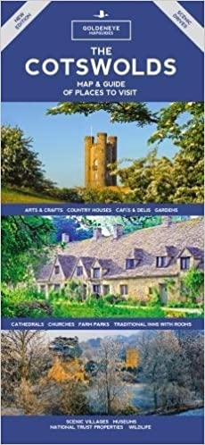 Of Places to Visit The Cotswolds Map /& Guide