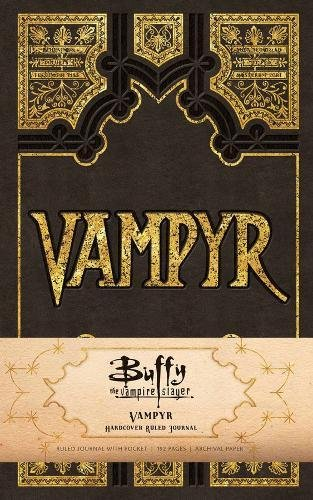 Buffy the Vampire Slayer Vampyr Hardcover Ruled Journal (Insights Journals)]()