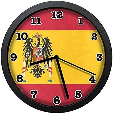 jiushiyigezi-n - Reloj de Pared con diseño de la Bandera de España ...