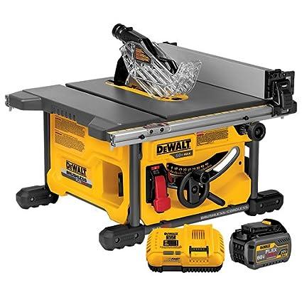 Dewalt dcs7485t1 flexvolt 60v max table saw kit 8 14 amazon dewalt dcs7485t1 flexvolt 60v max table saw kit 8 14 greentooth Gallery