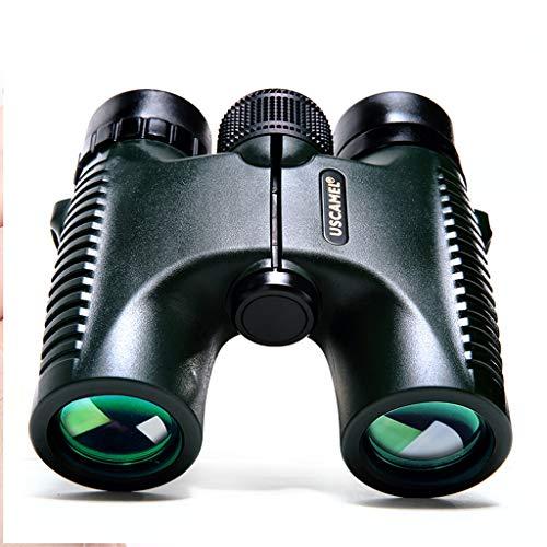 (Liutao Binoculars Binoculars 10 26 HD Portable Outdoor Travel Equipment Telescope Army Green Durable Binoculars)