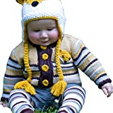 Huggalugs Boys and Girls Clever Fox Sweater 12-18m
