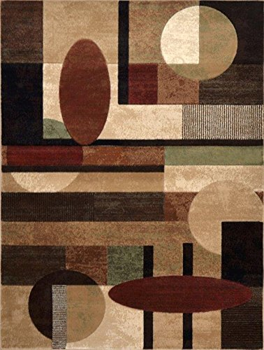 Tribeca by Home Dynamix HD5376-999-2N Home Decor 5×7 Living Room Area Rug
