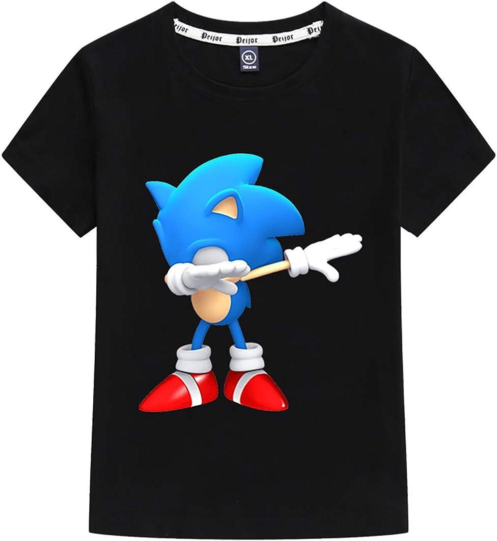 Sonic The Hedgehog Maglietta Maniche Corta per Ragazzi