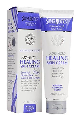 American Biotech Labs Silver Biotics Advanced Healing Skin Cream Lavender - Skin Cream Healing