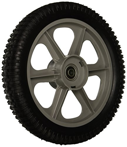 Maxpower 335112 12 Inch Plastic Spoked Wheel Replaces Poulan/Husqvarna/Craftsman 194387X460, 431880X460, 532433121, 433499X460, - Plastic Lawn Wheel Mower