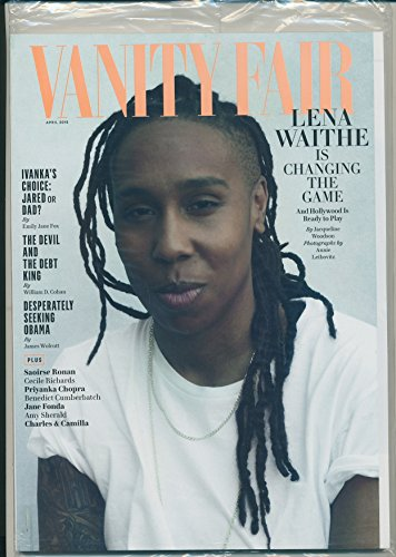 Amanda Vanity - Vanity Fair Magazine (April, 2018) Lena Waithe Cover