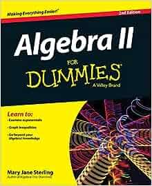algebra for dummies mary jane sterling pdf