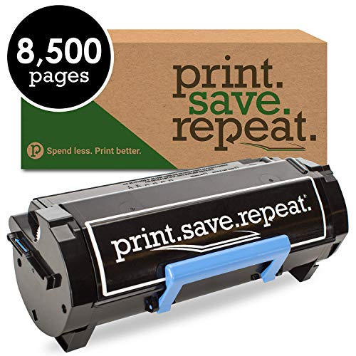 Print.Save.Repeat. Dell M11XH High Yield Remanufactured Toner Cartridge for B2360, B3460, B3465 [8,500 Pages]