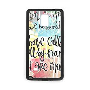 Words To Live By Samsung Galaxy Note 4 Case Black Yearinspace022842