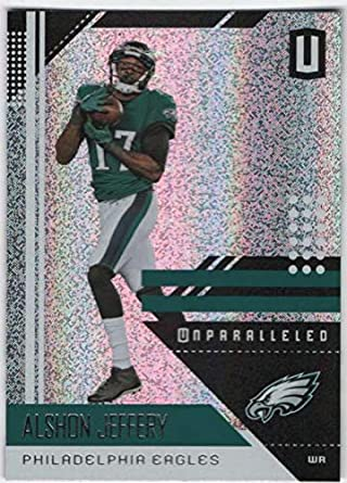 2018 Panini Unparallel NFL #159 Alshon Jeffery Philadelphia Eagles Panini Football Trading Card
