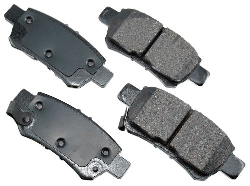 Akebono ACT1088 ProACT Ultra-Premium Ceramic Rear Brake Pad Set For 2005-2010 Honda Odyssey (Honda Odyssey Rear Brake)