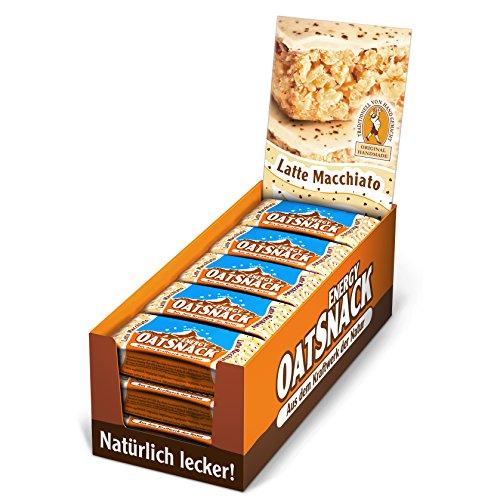 Davina Kohlenhydrat Riegel Oat Snack Riegel, 15 Riegel á 65 g, Latte Macchiato, 607065