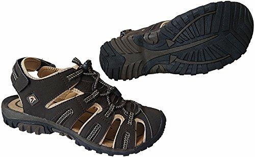 Herren Outdoorsandale Schuhe Trekking Sandale gr.41 - 46 art.nr.5525 dk.braun