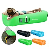 IdealHouse Inflatable Couch Air Sofa, Portable Waterproof Inflatable Lounge Chair Hammock Sleeping Sofa Sleeping Bed for Indoor Nap,Summer Swimming Pool Float for Outdoor Beach Parties Music Festival