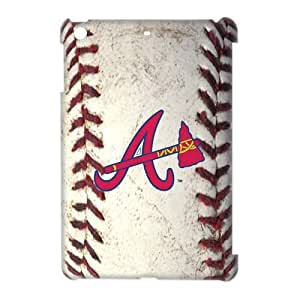 Godstore Hard Plastic MLB Atlanta Braves Primary Logo Ipad Mini Case