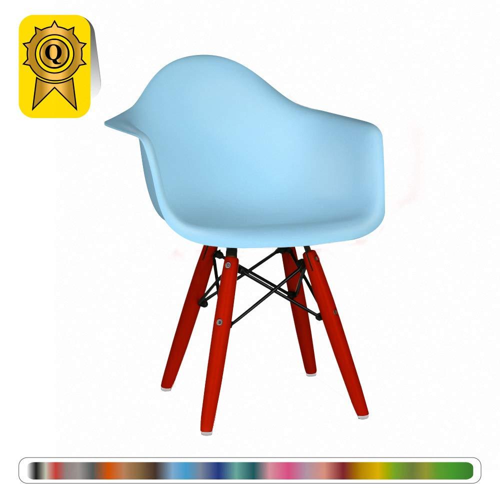 Decopresto Venta 1 x sillón Kid escandinavo Piernas: Madera ...