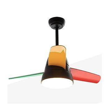 Kreative Kinderzimmer Fan Restaurant Schlafzimmer Deckenventilator Licht  Macarons Kunststoff Ventilator Silent Fan Kronleuchter Macarons  Deckenventilator ...