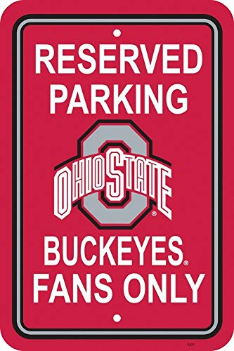 - College Street Osu 12 Buckeyes State O Helmet Accessories Decor 18 Ncaa Block Desk Plastic Dorm Ohio Across Inch Door Trash Can Office Hats Signbuckeye By Signs Parking Wreath Caddy Baby Only Road