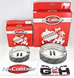 FRONT & REAR SET OF WATER GROOVED BRAKE SHOES + SPRINGS For the Honda ATC 125M 185 185S 200