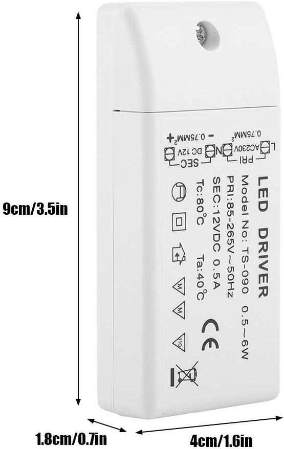 et Ampoules Mr11 // G4 // Mr16 // Gu5.3 12V 15W Riuty Transformateur /à LED,Transformateur de LED pour Diodes /électroluminescentes LED