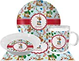 Reindeer Dinner Set - 4 Pc (Personalized)