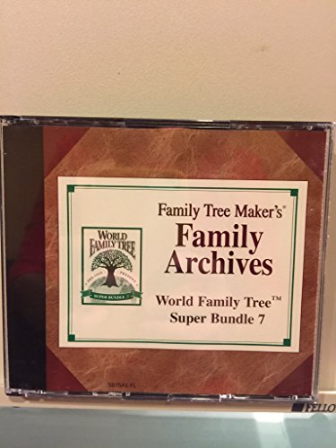 family tree maker broderbund - 2