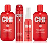 CHI 44 Iron Guard Thermal Protecting System including CHI Iron Guard Shampoo 12oz, CHI Iron Guard Conditioner 12oz, CHI Iron Guard Style & Stay 2.6oz & CHI Iron Guard 2oz