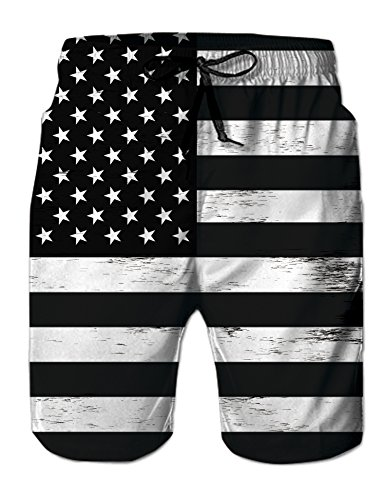 f6b89c5978 Uideazone Mens Cool Quick Dry Board Short Swim Trunks Summer Casual Beach  Swimming Vacation Surfing Shorts