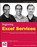 Beginning Excel Services, Liviu Asnash and Eran Megiddo, 0470104899