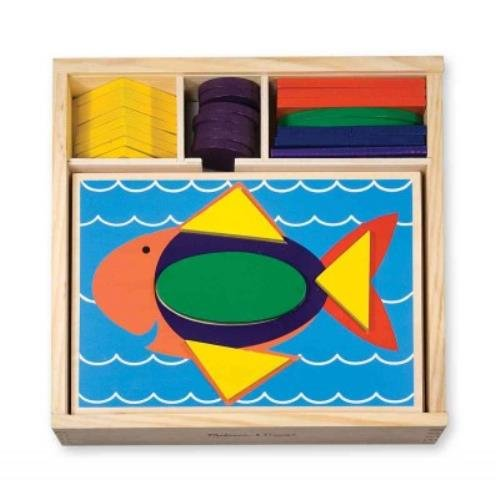 Wooden Beginner Pattern Blocks - 2
