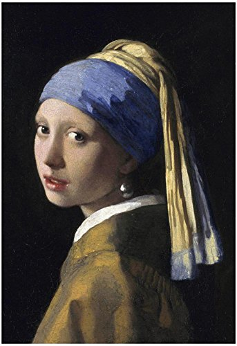 Johannes Vermeer Girl with a Pearl Earring Art Print Poster