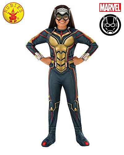 Rubie's Ant-Man Girl's Wasp Costume, (Wasp Movie Costume)