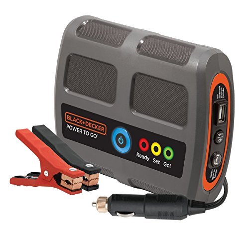 Black And Decker Portable Car Battery Charger - 7