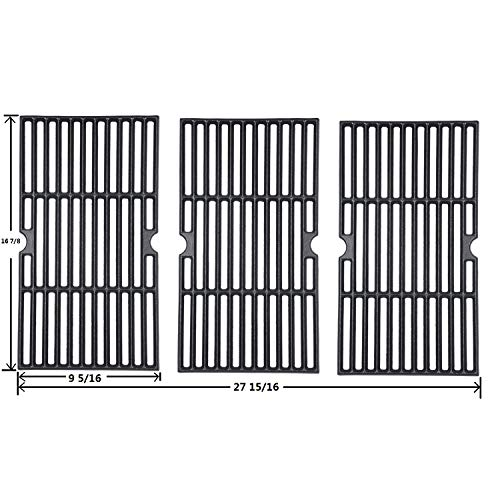 Sente Grill Grid Grates Replacement for Charbroil463420508, 463420509, 463420511, 463436213, 463436214, 463440109, 463441312,Master Chef, Thermos,Backyard and Others(16 7/8