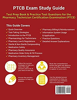 PTCB Exam Study Guide: Test Prep Book & Practice Test