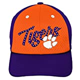 NCAA Clemson Tigers Youth Girls Mesh Slouch Hat, Youth Girls One Size, Orange