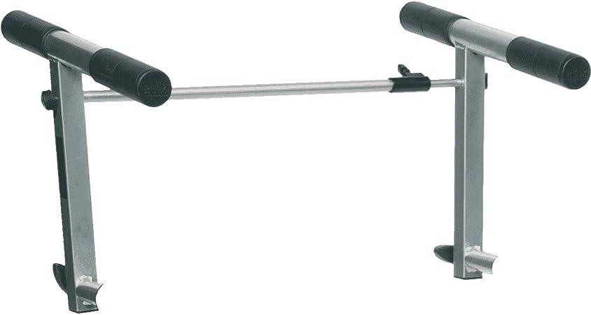 Extensión para acoplar teclados. ideal para aumentar la altura de los teclados respecto a un soporte de medida estándar. color titanio