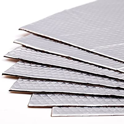 Noico 80 mil 36 sqft car Sound deadening mat, butyl automotive Sound Deadener, audio Noise Insulation and dampening by Noico