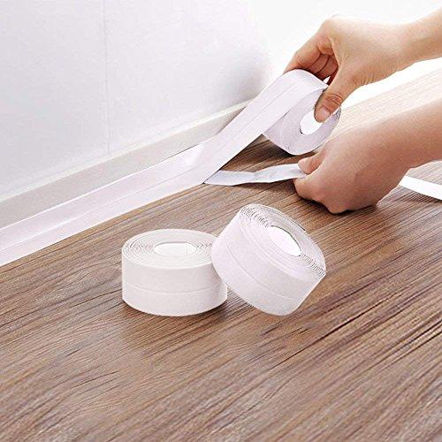 PVC Bath Sealant Tape, White Bathroom and Wall Sealing ...