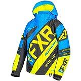 3 16 shock cord hook - FXR Youth CX Jacket Blue and HI-Vis Size 16 (X-Large)