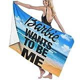 Best Barbie Towel Sets - D&Y Barbie Wants to Be Me Bath Towels Review