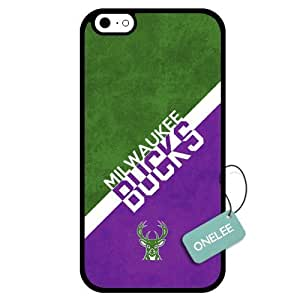 (TCustomized NBA Milwaukee Bucks Team Logo Design PC Case For Samsung Note 2 Cover Case CovBlack 01
