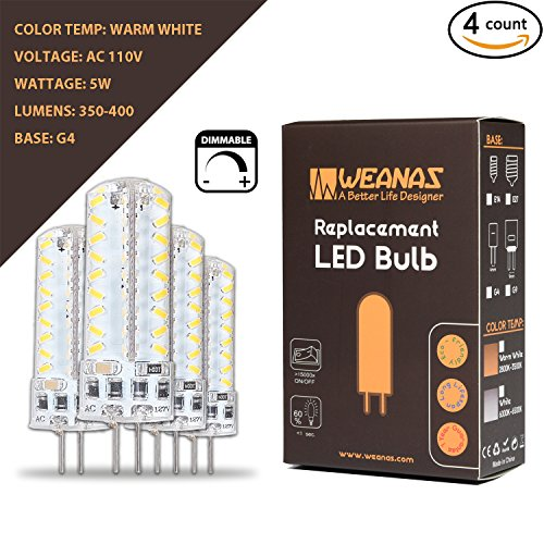 Weanas Dimmable 100V 130V Equivalent Replacement